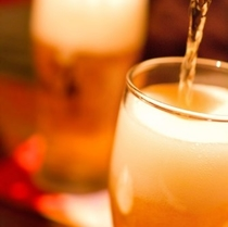 ウェルカムドリンク(ビール)