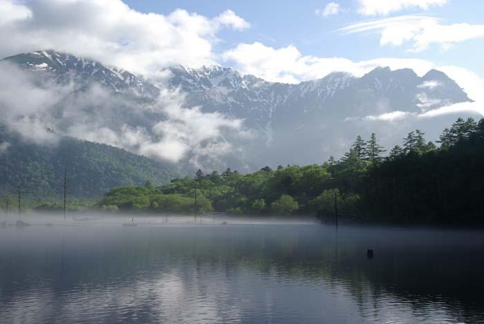 目覚めの大正池