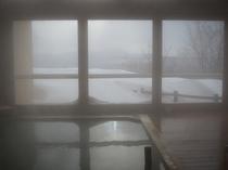 冬季 展望露天風呂