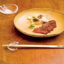 コラボ店。 祇園、炭火焼き割烹「ちんねん」お料理一例