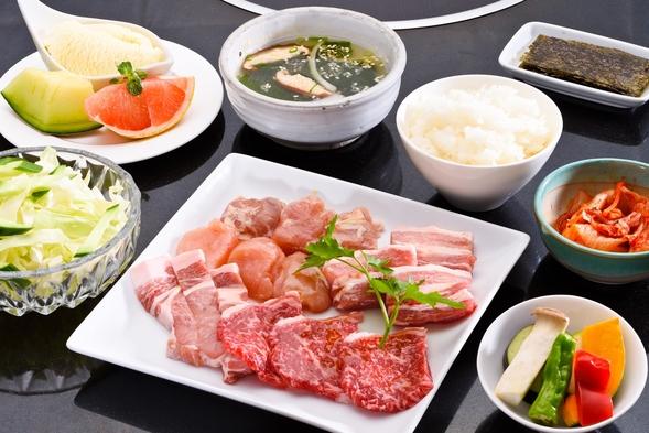 【お日にち&ネット予約限定】ご夕食は焼肉ミニコース!お得な1泊2食9,000円〜!