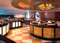 【マリオットカフェ】各国の料理をアラカルテ、そしてビュッフェスタイルで一日中提供していますCafe