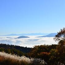 *周辺/妙高杉ノ原スキー場 秋の風景