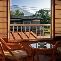*お部屋からの眺め/窓から富士山が見えるお部屋もございます。※ご指定はできませんのでご了承下さい。