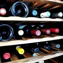 オーナーこだわりのワイン