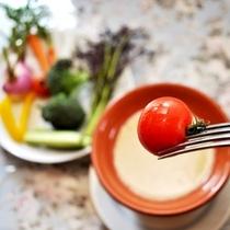 伊豆野菜のバーニャカウダ