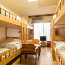 *【二段ベッド部屋一例】8名様まで同宿OK!大人数のグループさんにオススメ★