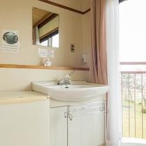 *【お部屋一例】お部屋には洗面も完備★