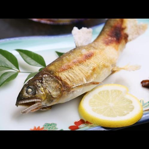 ★*【夕食一例】鮎の塩焼き