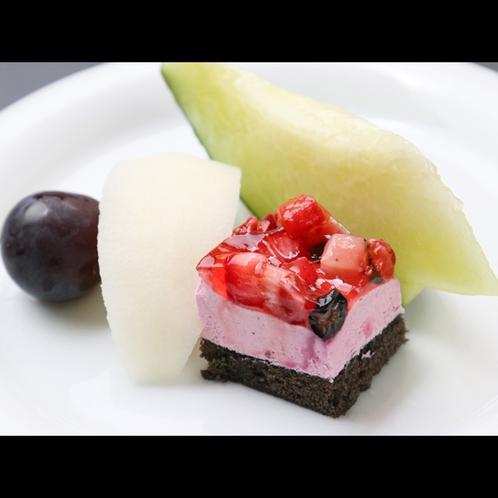 ★*【夕食一例】デザート