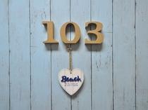 【1階洋室ツイン】103号室入口