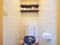 【離れ】清潔感あふれるトイレです♪