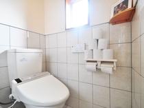 【1階共同トイレ】ウォシュレット完備です