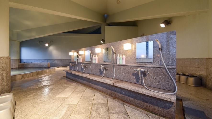 *【大浴場】広い大浴場で、1日の疲れをしっかり癒して下さい。