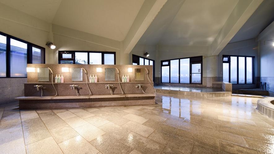 *【大浴場】ボディソープ・シャンプーリンスの備え付けがございます。