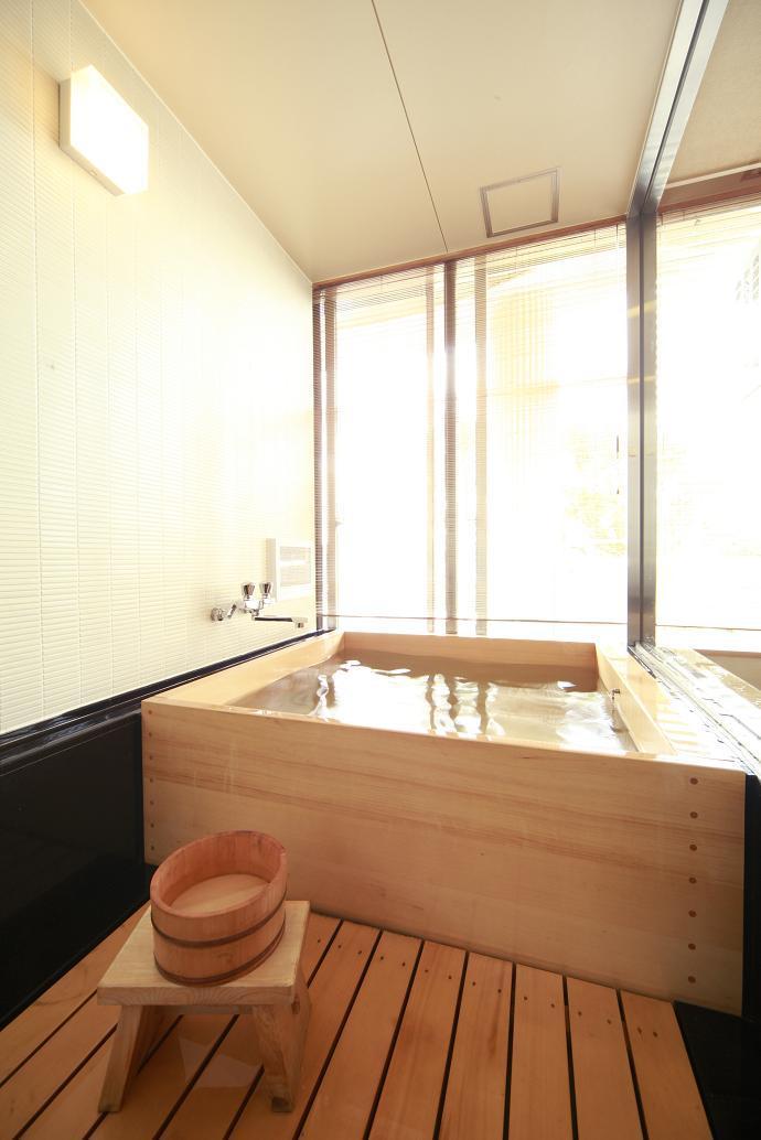 【特別和室】檜風呂