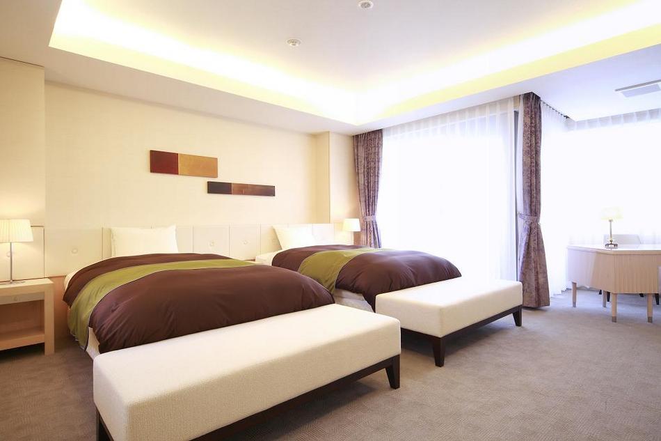 特別洋室(113m2)ベッドルーム