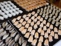 バイキング料理寿司