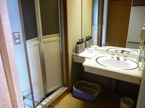 海側和室洗面所