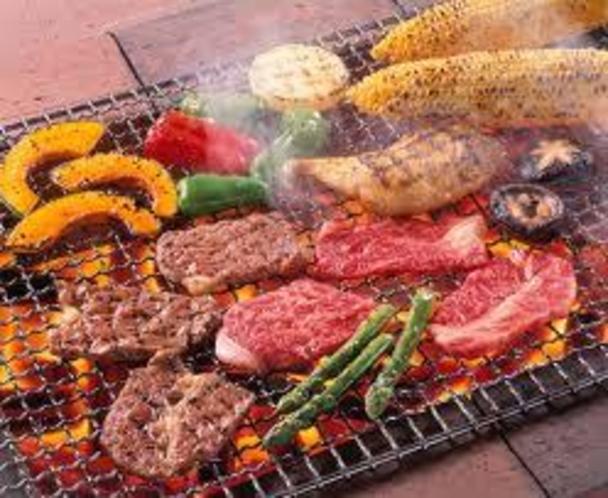 BBQガーデンオープンします。 7月から10月まで
