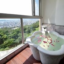 【客室】露付特別室201(風呂)