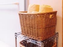 【浴室(バスタブ付)】タオルもご用意がございます