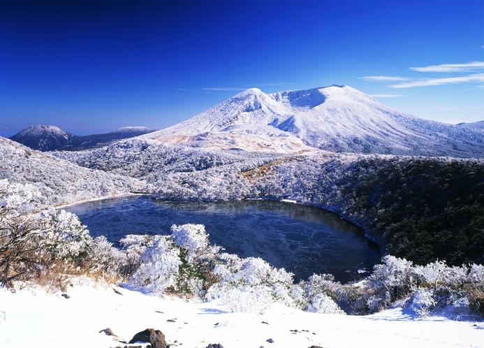 冬の韓国岳