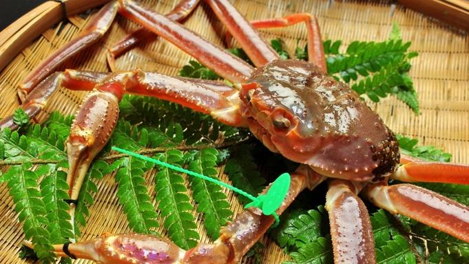 【吟味大蟹】地物タグ付き 活間人蟹 1.0杯|間人極みカニフルコース