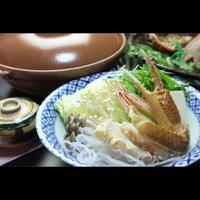 【日帰り昼食プラン】板長特選ズワイガニ1.0杯+旬の真牡蠣