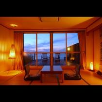 【光風】和室15畳+絶景サンデッキ(バストイレ付)