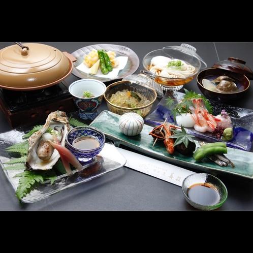 4月から11月初旬の料理一例(日々変動)