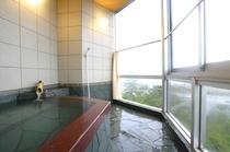 展望風呂付客室のお風呂