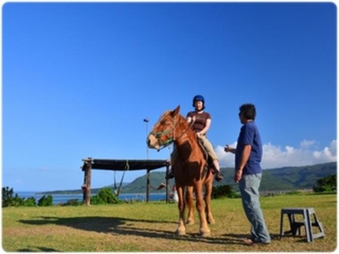 乗馬体験もやっています!