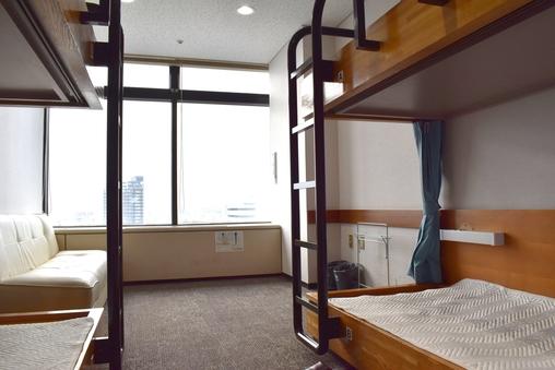 ★東京の夜景一望!一室利用★二段ベッドタイプ