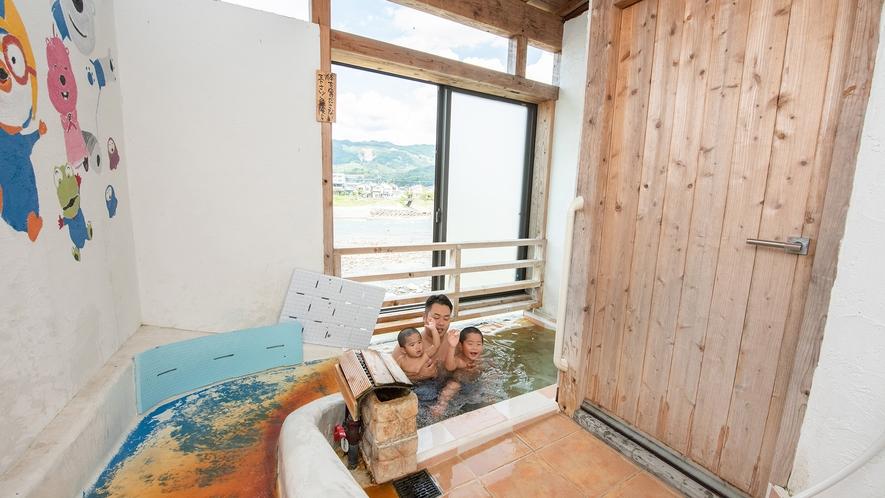 *【貸切風呂】すべり台付風呂・・・お子様は大喜び♪