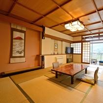 *【客室】和室12畳・・・筑後川沿いのお部屋でごゆっくりと