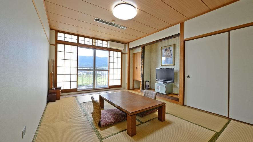 *【リバービューなし和室】・・・お部屋から筑後川がご覧いただけません。