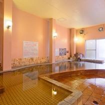 *【大浴場】男湯・女湯ともに寝湯がございます。(ご利用時間:朝6時30分〜夜11時)