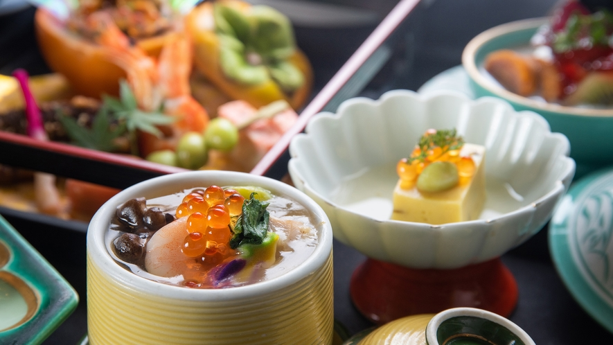 *【ミニ会席/夕食一例】茶碗蒸し