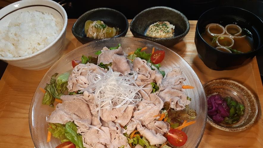 【選べるお手軽定食】豚しゃぶサラダ定食