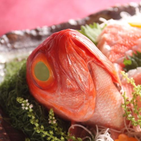 *夕食一例/金目鯛や伊勢海老など、伊豆近海の新鮮な魚貝類をたっぷりとお楽しみください!