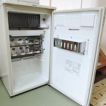 *客室設備一例/空の冷蔵庫がございます。ご自由にご利用ください。