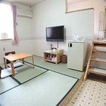 *和洋室ツインルーム/畳でのんびりくつろぎたいというリクエストにお応えしました!