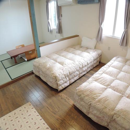 *和洋室ワイドルーム/わんこと一緒に、畳で足を伸ばしておくつろぎください♪