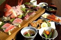 【稲取キンメ】♪♪ 地魚海鮮盛り◇金目鯛姿煮プラン