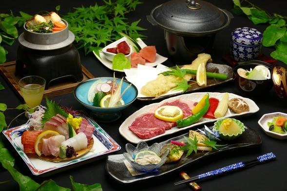 【海側のお部屋】×【会場食】 おいしいお肉も食べたい〜! 広島和牛! ◎特選牛ロース会席プラン◎
