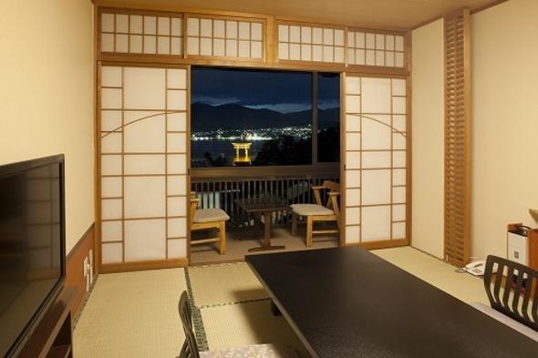 【お料理グレードアップ】海側のお部屋で夜景を眺める♪瀬戸の宴・竹プラン