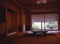 【楓の間】源泉掛け流し部屋風呂付き特別室