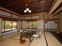 【桐の間】源泉掛け流し部屋風呂付き特別室