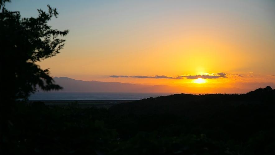 ◇夕日を眺めて◇
